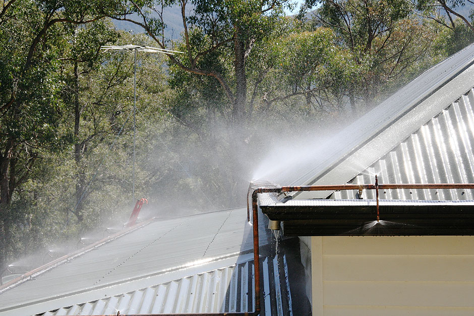 Blaze Control Bushfire Sprinkler Systems Fixed Systems
